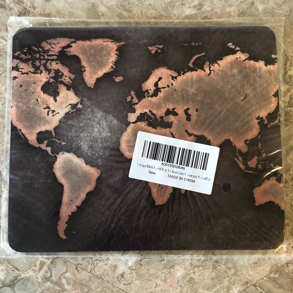 Accessories World Map Mouse Pad Poshmark